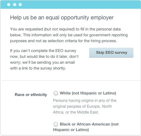 EEO Survey