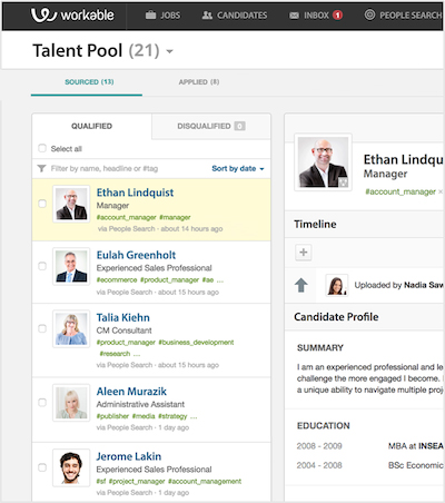 Build a Talent Pool - Nurture Candidate Pipeline - Talent CRM ...